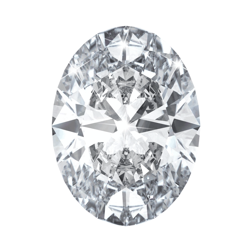 2.06 ct Oval Lab Grown Diamond