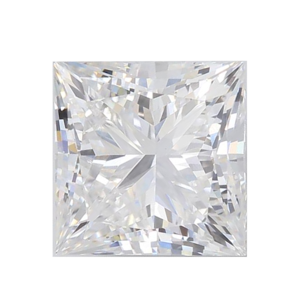 2.11 ct Princess Lab Grown Diamond