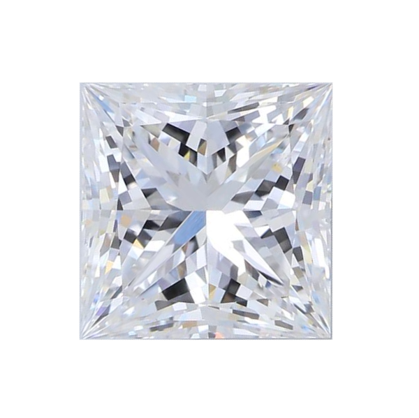 2.38 ct Princess Lab Grown Diamond