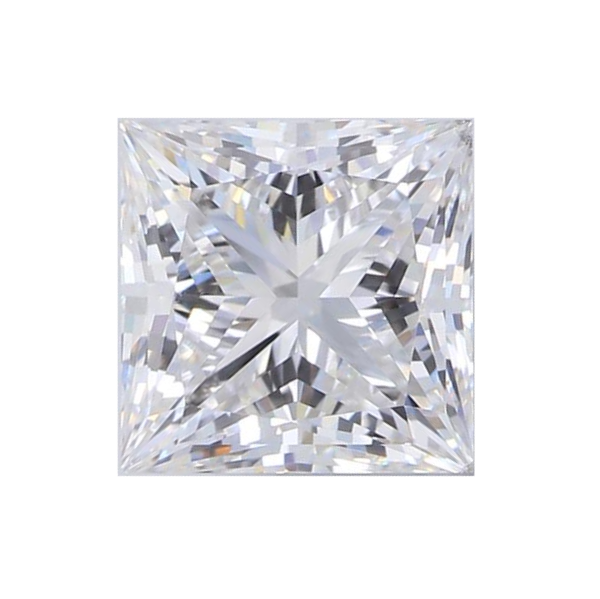 1.53 ct Princess Lab Grown Diamond