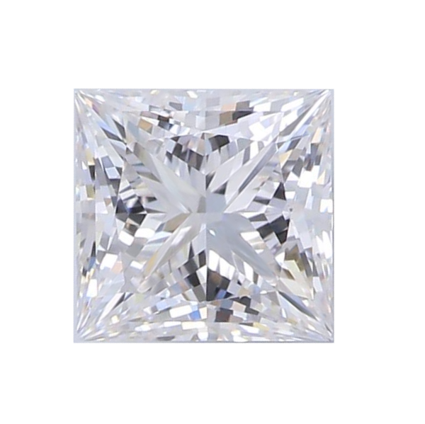 0.88 ct Princess Lab Grown Diamond