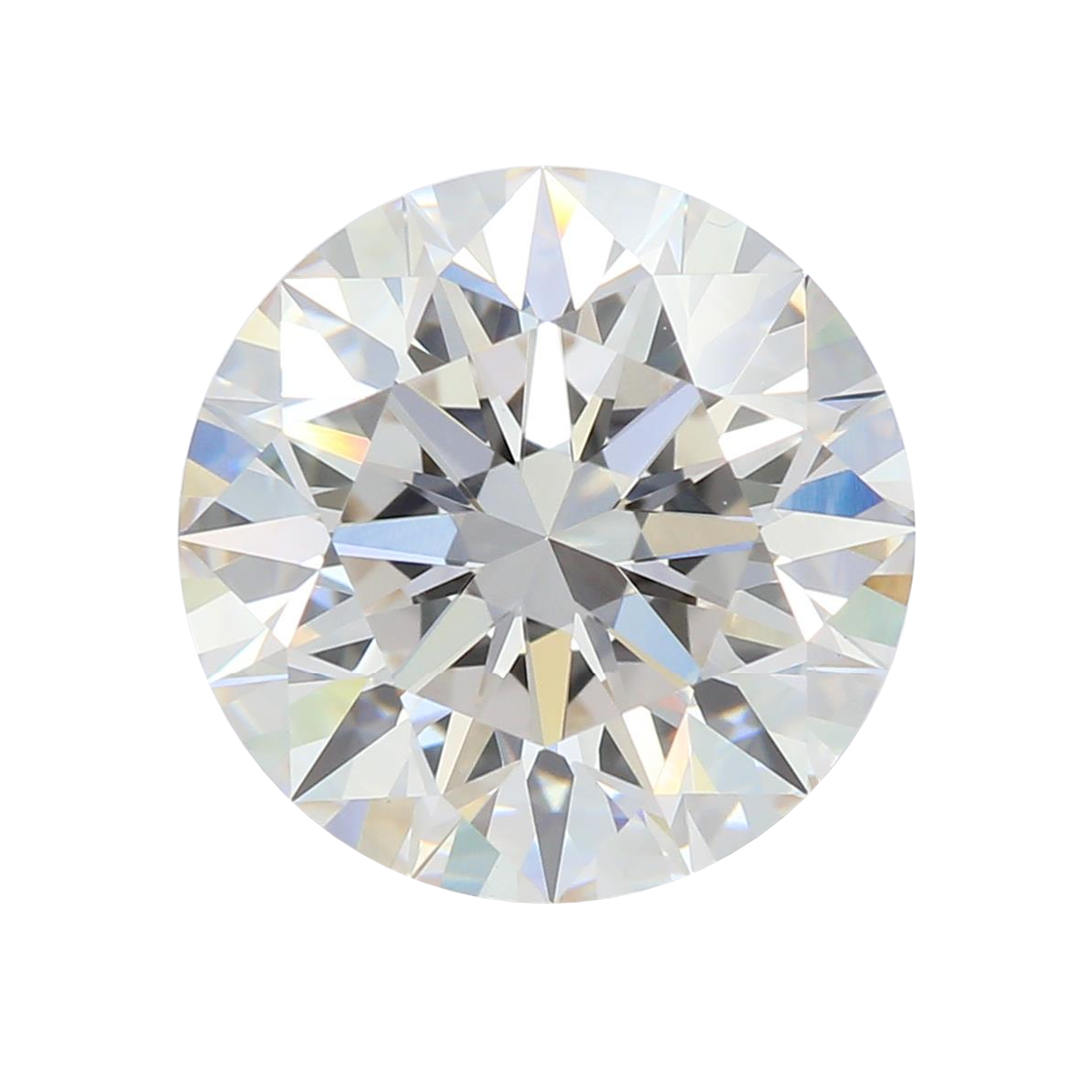 2.54 ct Round Lab Grown Diamond