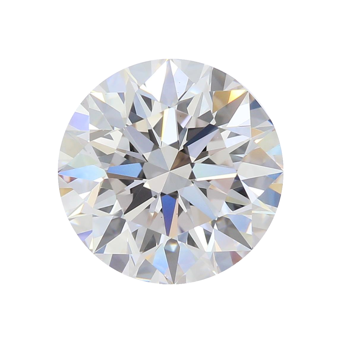 2.12 ct Round Lab Grown Diamond