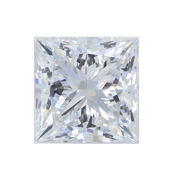 1.62 ct Princess Lab Grown Diamond