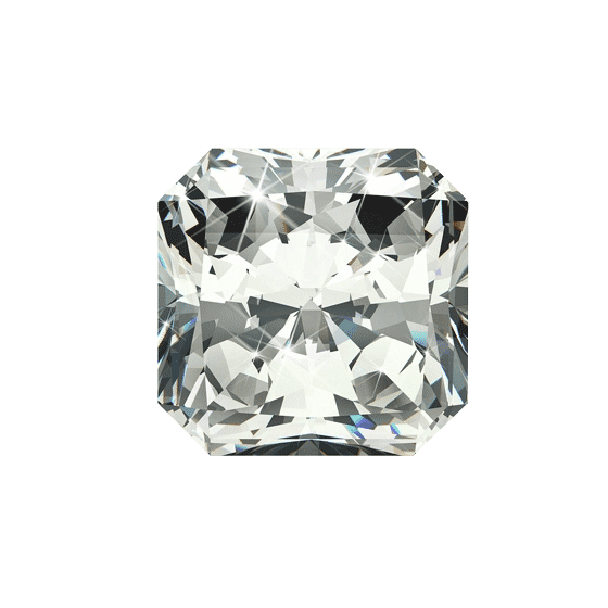 0.52 ct Radiant Lab Grown Diamond