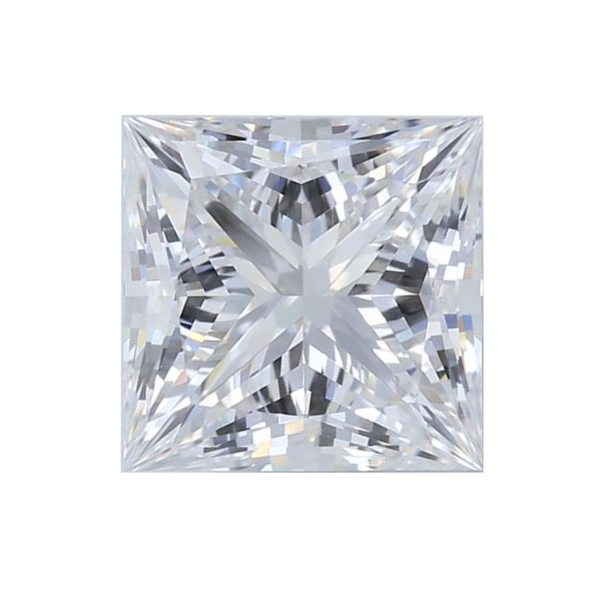 1.55 ct Princess Lab Grown Diamond